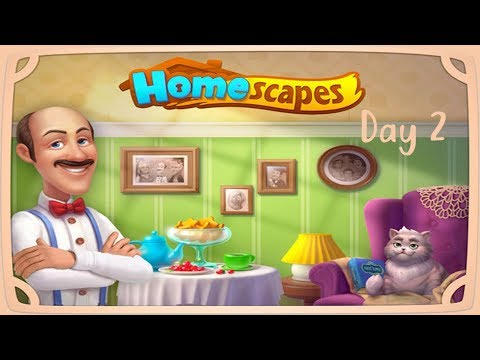CONVINCING DAD NOT TO SELL THE HOUSE! | Homescapes Gameplay Day 2