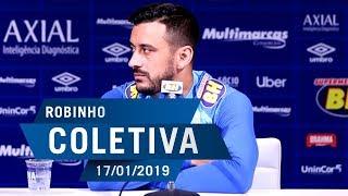 17/01/2019 - Coletiva: Robinho