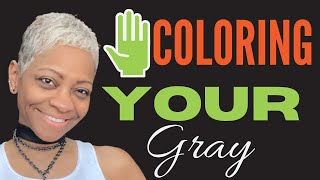 STOP COLORING YOUR HAIR | and learn how to embrace your gray hair transition