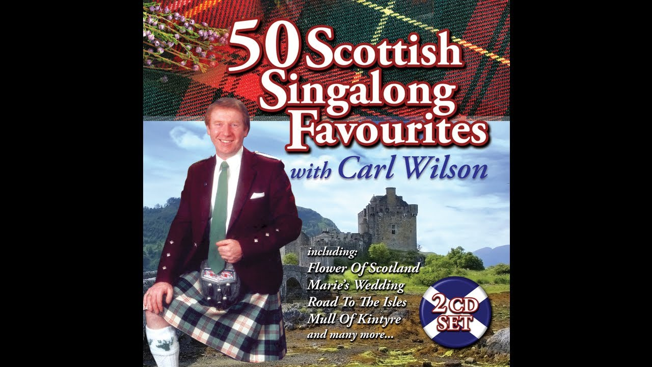 Carl Wilson Flower Of Scotland Audio Stream Youtube