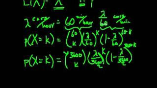 Распределение Пуассона. Часть 1