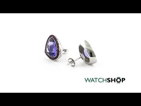Fiorelli Jewellery Ladies' Sterling Silver Earrings (E5084M)