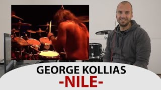 Gambar cover Drum Teacher Reacts to George Kollias - Drummer of Nile