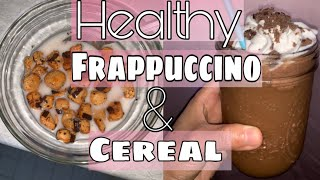Low Carb Cereal & Frappuccino Recipe for Weightloss!