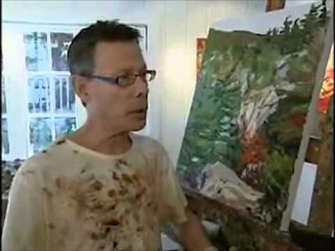 ctv news with leanne cusack - interview with canadian landscape artist gordon harrison - 2010
