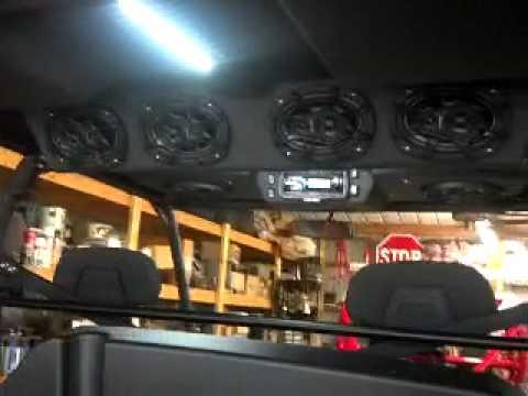2012 Polaris Ranger Xp With Audioformz Roof Youtube