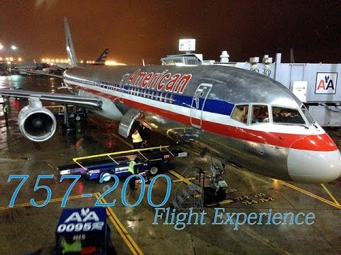 The American Airlines 757-200 First Class Experience!