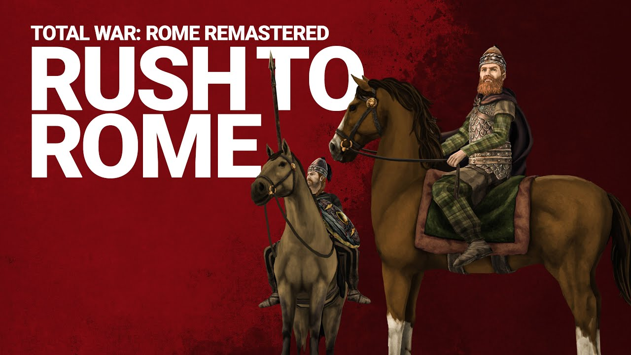 Total War: ROME REMASTERED - Let's Play The Gauls / Rush to Rome