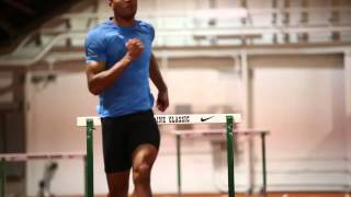 World-class multi-event athletes Ashton Eaton and Brianne Theisen-Eaton train in Eugene
