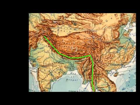 ลักษณะภูมิประเทศของทวีปเอเชีย