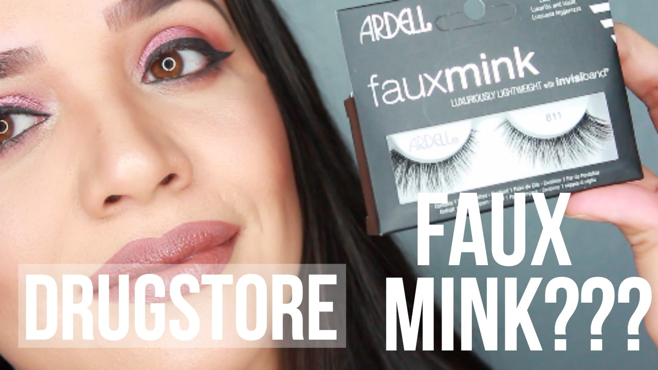 575b82e172a Ardell Faux Mink Lashes Review Try On - YouTube