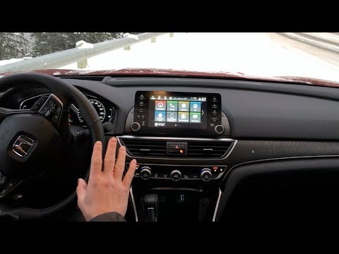 2018 Honda Accord: Honda Infotainment System Review - TheDriveGuydeReview