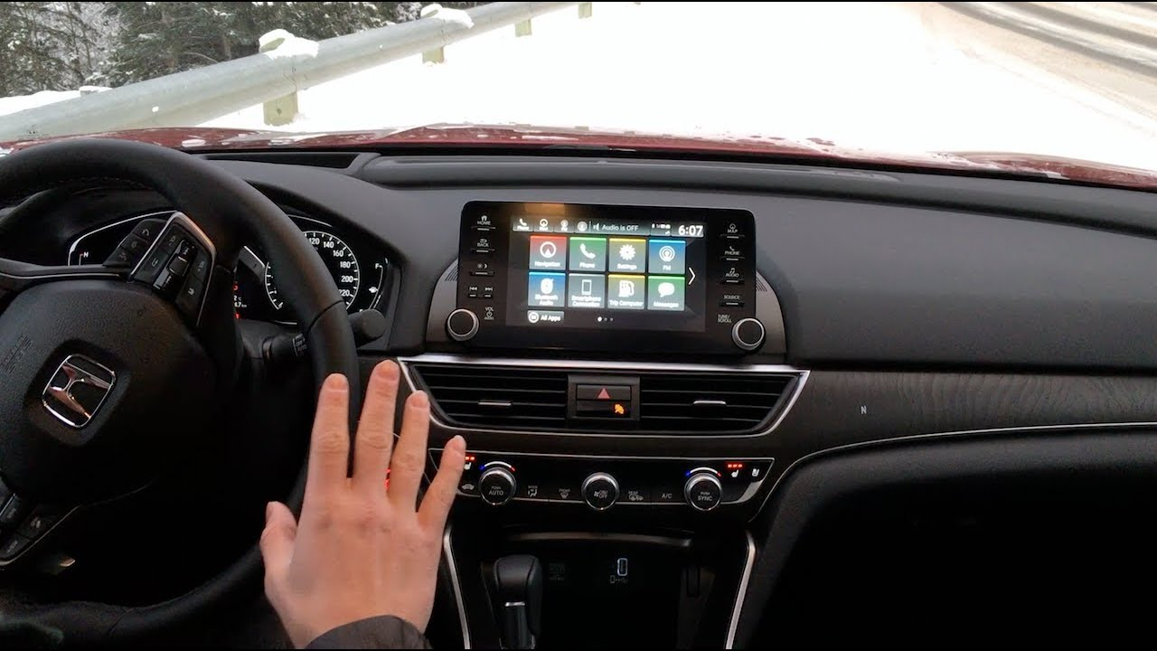 2018 Honda Accord Honda Infotainment System Review Thedriveguydereview
