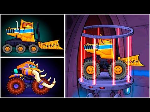 Каким Будет Чивер и Мамонт в Машина Ест Машину 4 - обзор хищных тачек во всех версиях Car Eats Car