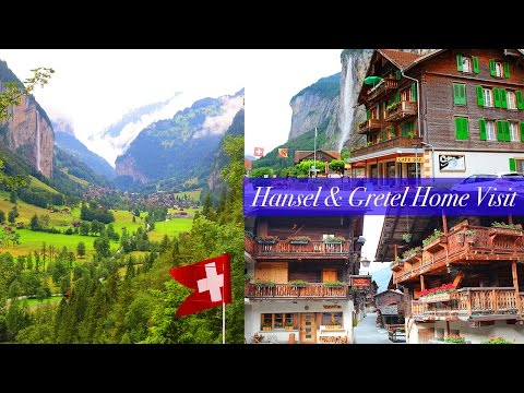 LAUTERBRUNNEN & GRIMENTZ VLOG Part One! | Switzerland Travel Diary 2016 | Monique Emmens