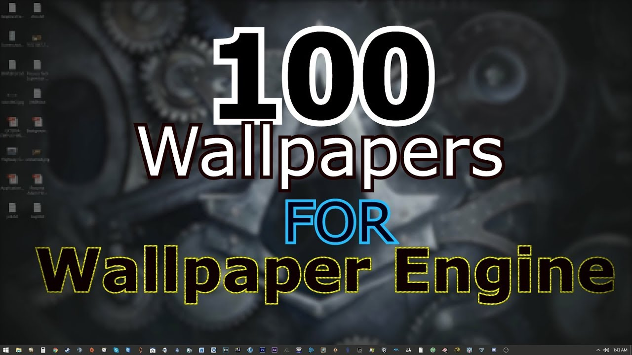 steam how to make wallpaper engine