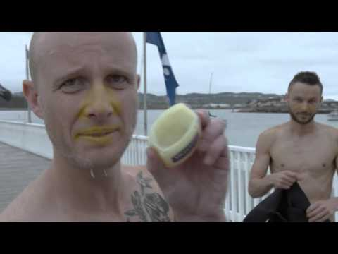 Thumbnail: Jono and Ben ride a Banana Boat across the Cook Strait #CookCrusade