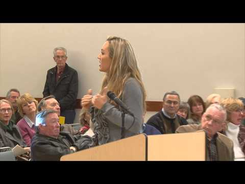 Danville CA Planning Commission meeting: PUBLIC COMMENTS, 12/11/12