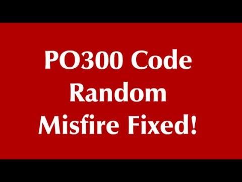P0300 random misfire engine code