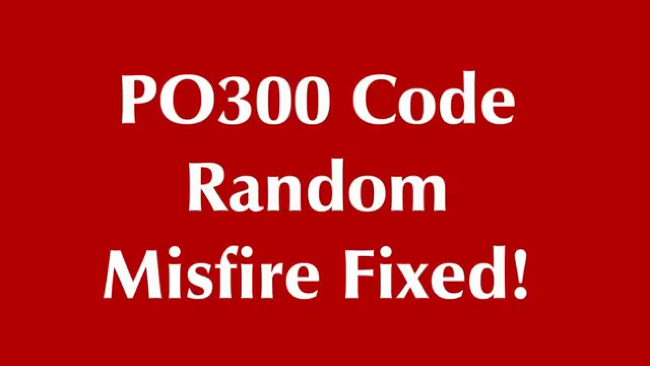 medium resolution of po300 its not what you think sometimes crank sensor time not spark plug wires