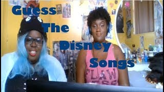 Gambar cover JazzKat w/friends reacts to Guess The Song - Disney Movies Challenge 2018