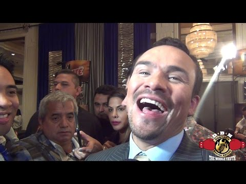 JUAN MARQUEZ  REACTION TO PACQUIAO'S WIN AND THOUGHTS ON TERRENCE CRAWFORD