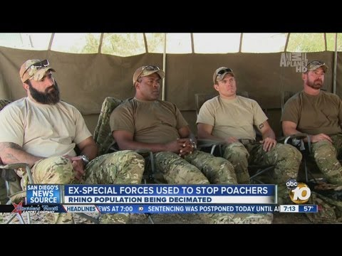 Ex-Special Forces battle poachers on Animal Planet TV show