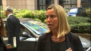 Minister Federica Mogherini