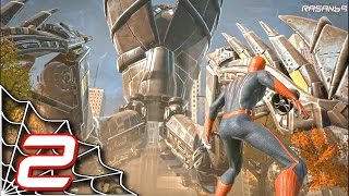 The Amazing Spider-Man (PC) walkthrough part 2 (S-01)