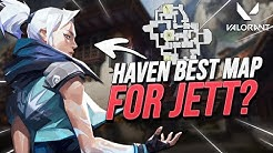 IS HAVEN THE BEST JETT MAP?! | Liquid Mendo
