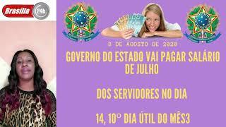 Governo do estado vai pagar salário de julho dos servidores.CONFIRA!
