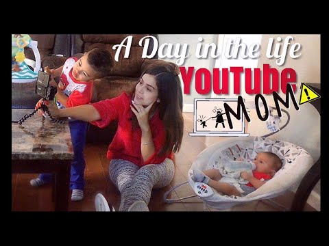 A REAL DAY IN THE LIFE OF A STAY AT HOME MOM/YOUTUBER | SHARLENE COLON