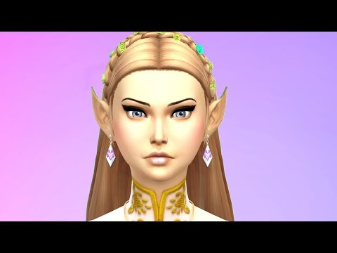 ZELDA THE NEW EXCHANGE STUDENT!  The Sims 4 Gameplay [My Dream Life]