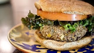 How To Make Quinoa Black Bean Veggie Burger