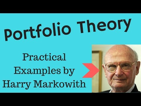 Modern Portfolio Theory by Harry Markowitz (explained in layman terms)