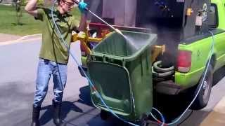 Bindoctor Green Bin Cleaning Video