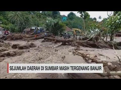 Sejumlah Daerah di Sumbar Masih Tergenang Banjir I CNN ID Update