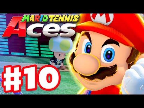 Mario Tennis Aces - Gameplay Walkthrough Part 10 - Mario! Online Tournament! (Nintendo Switch) - 동영상