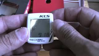 Распаковка и краткий обзор вело компьютера KLS RECKON