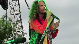 Steven Tyler & Loving Mary Band, intro & Sweet Emotion, 6/12/18, Lewiston, NY