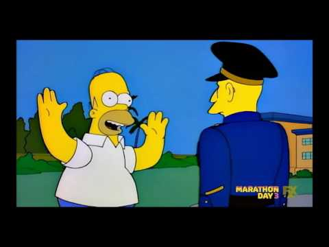 Homero golpeado por infante de marina en Australia