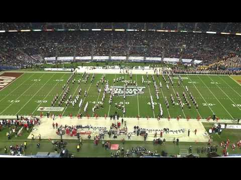 Badger Band Pre-Game Holiday Bowl