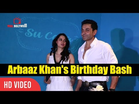 Bobby Deol and wife Tanya Deol At Arbaaz Khan's Birthday Celebration Party Birthday Bash