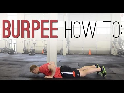BURPEE TUTORIAL: How To Perform Burpees For Speed And Turnover - Exercise Demonstration Video