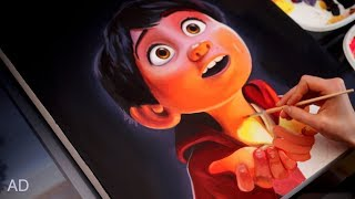 Pixar Coco - PAINTING
