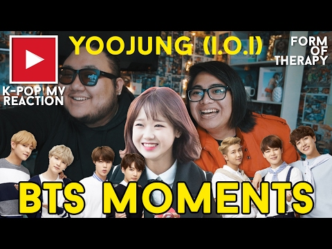 Asian Americans React to I.O.I Yoojung & BTS (ft. Jeonghan)