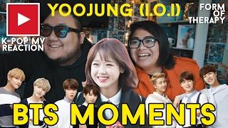 Asian Americans React to I.O.I Yoojung & BTS (ft. Jeonghan)