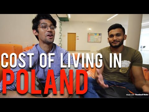 COST OF LIVING IN POLAND 🇵🇱 AS A STUDENT (WARSAW) by Nikhilesh Dhure