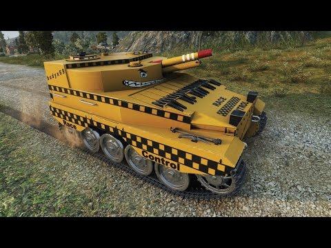 WoT FV304 (Race Control skin) | 4.400+ DMG | 1.600+ EXP - Mines