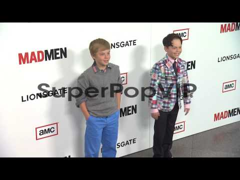 Mason Vale Cotton, Perry Cotton at AMC's 'Mad Men' Season...